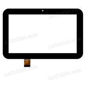 ZK-6195 Digitizer Glass Touch Screen Replacement for 7 Inch MID Tablet PC
