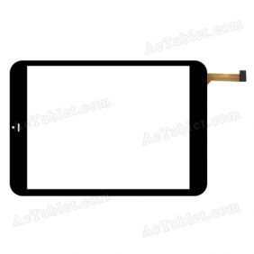 FPC-C079T1234AA2 Digitizer Glass Touch Screen Replacement for 7.9 Inch MID Tablet PC