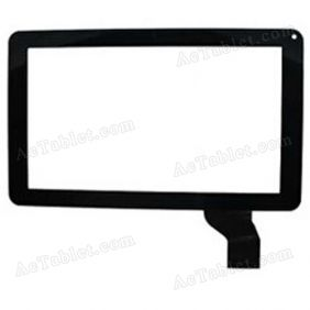 JQF09002A Digitizer Glass Touch Screen Replacement for 9 Inch MID Tablet PC