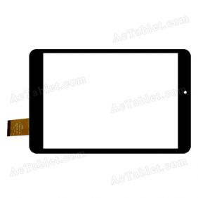 QSD E-C8044-01 Digitizer Glass Touch Screen Replacement for 7.9 Inch MID Tablet PC