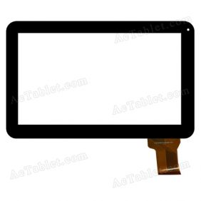 NJG101021AEG0B-V0 Digitizer Glass Touch Screen Replacement for 10.1 Inch MID Tablet PC