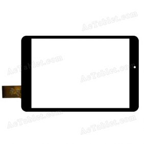 C196131A1-FPC720DR Digitizer Glass Touch Screen Replacement for 7.9 Inch MID Tablet PC