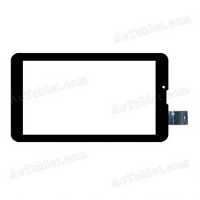 C1B4104A1-FPC738DR Digitizer Glass Touch Screen Replacement for 7 Inch MID Tablet PC