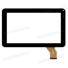 CZY6802A01-FPC Digitizer Glass Touch Screen Replacement for 9 Inch MID Tablet PC