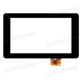 SG5262A-FPC-V0 Digitizer Glass Touch Screen Replacement for 7 Inch MID Tablet PC