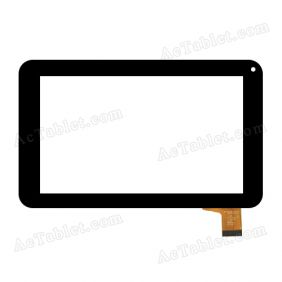 F1B001B Digitizer Glass Touch Screen Replacement for 7 Inch MID Tablet PC