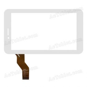 C186104C1-FPC748DR Digitizer Glass Touch Screen Replacement for 7 Inch MID Tablet PC