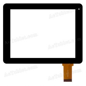 ZP9073-8 Ver.01 Digitizer Glass Touch Screen Replacement for 8 Inch MID Tablet PC