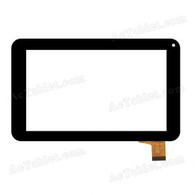 ZHC-U25-132A Digitizer Glass Touch Screen Replacement for 7 Inch MID Tablet PC