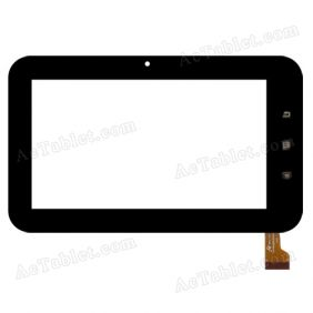 Y7Y013(TP070059) Digitizer Glass Touch Screen Replacement for 7 Inch MID Tablet PC