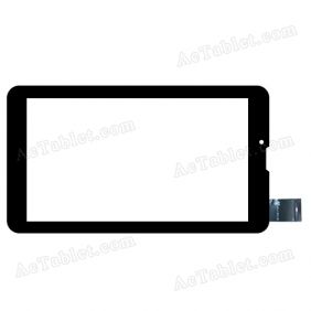 DH-0728A1-FPC040 Digitizer Glass Touch Screen Replacement for 7 Inch MID Tablet PC