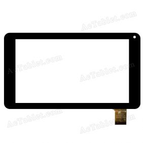 NJG070104ACE0B Digitizer Glass Touch Screen Replacement for 7 Inch MID Tablet PC