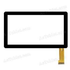 GM033-4 Digitizer Glass Touch Screen Replacement for 7 Inch MID Tablet PC