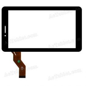 YTG-P70020-F1 Digitizer Glass Touch Screen Replacement for 7 Inch MID Tablet PC