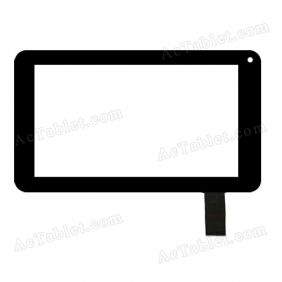 FHF70045 Digitizer Glass Touch Screen Replacement for 7 Inch MID Tablet PC