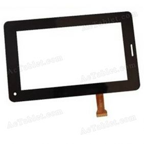 FHF70074 Digitizer Glass Touch Screen Replacement for 7 Inch MID Tablet PC