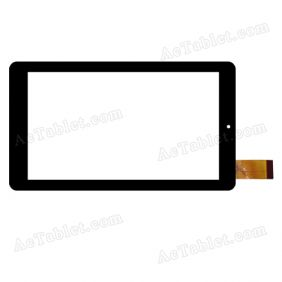 HD08 V00 PFKC FHX Digitizer Glass Touch Screen Replacement for 7 Inch MID Tablet PC