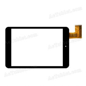 DX0074-080A FPC Digitizer Glass Touch Screen Replacement for 7.9 Inch MID Tablet PC