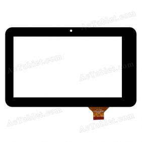 HOTATOUCH C190115C1-PG FPCC661DR Digitizer Glass Touch Screen Replacement for 7 Inch MID Tablet PC