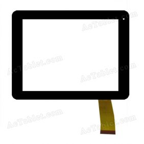 z10z296 Digitizer Glass Touch Screen Replacement for 8 Inch MID Tablet PC