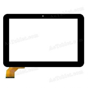 LT10025A0 Digitizer Glass Touch Screen Replacement for 10.1 Inch MID Tablet PC
