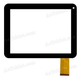 TPT-080-223 Digitizer Glass Touch Screen Replacement for 8 Inch MID Tablet PC
