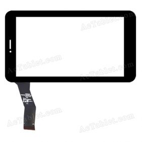 c186104a2-fpc742dr-02 Digitizer Glass Touch Screen Replacement for 7 Inch MID Tablet PC