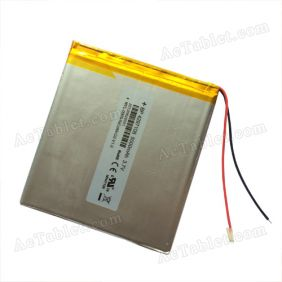Replacement 5000mah Battery for 8/9/9.7/10/10.1 Inch Android Tablet PC 3.7V