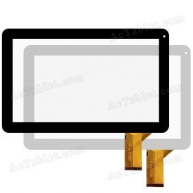 YDT1275-A1 Digitizer Glass Touch Screen Replacement for 10.1 Inch Android Tablet PC
