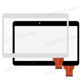 YCG-C10.1-182B-01-F-01 Digitizer Glass Touch Screen Replacement for 10.1 Inch MID Tablet PC