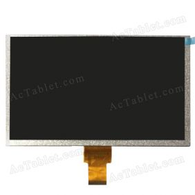 Inner LCD Display Screen for 9 Inch Allwinner A23 A20 Dual Core Android Tablet PC Replacement