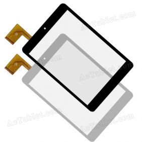 Digitizer Touch Screen Replacement for Z780 MTK8312 Dual-core 7.85 Inch 3G Phone Tablet PC