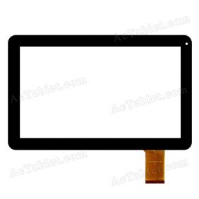 WJ-DR10021/22-FPC Digitizer Glass Touch Screen Replacement for 10.1 Inch MID Tablet PC