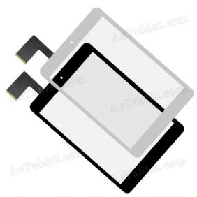 HS1282 V190 JHET Digitizer Glass Touch Screen Replacement for 7.9 Inch MID Tablet PC