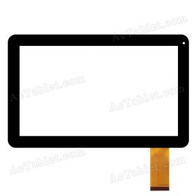 GT101QLT1007 FPC Digitizer Glass Touch Screen Replacement for 10.1 Inch Android Tablet PC