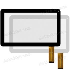 Replacement FPC-CY101050-00 2013.12.05 FHX Digitizer Touch Screen for 10.1 Inch Tablet PC