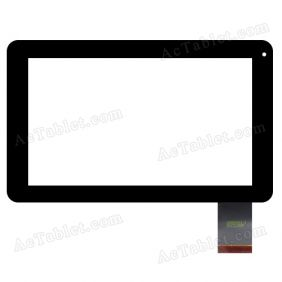 SG5893-FPC_V1-1 Digitizer Glass Touch Screen Replacement for 9 Inch MID Tablet PC