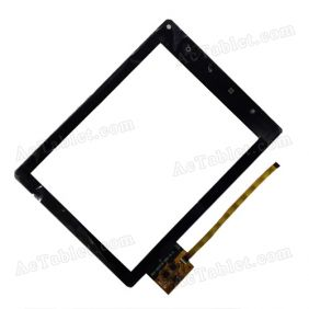 DPT 300-N3371B-A00-V1.0 Digitizer Glass Touch Screen Replacement for 8 Inch MID Tablet PC
