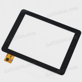 AD-C-800469-FPC Digitizer Glass Touch Screen Replacement for 8 Inch MID Tablet PC