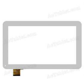 Ftouch GT10MR100 FHX Digitizer Touch Screen Replacement for 10.1 Inch Tablet PC