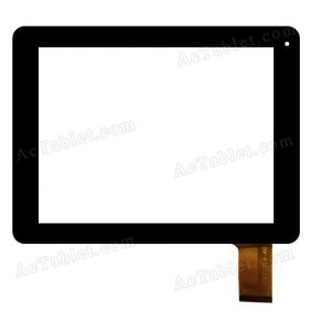 YDT1216-A0 Digitizer Glass Touch Screen Replacement for 8 Inch MID Tablet PC