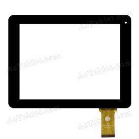 FPC-C8Y0033-00 Digitizer Glass Touch Screen Replacement for 8 Inch MID Tablet PC