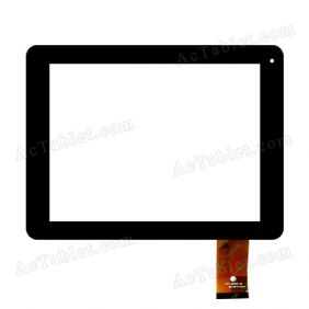 FPC-C8Y037-00 Digitizer Glass Touch Screen Replacement for 8 Inch MID Tablet PC