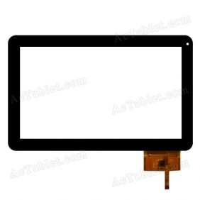 300-L3709H-A00 Digitizer Glass Touch Screen Replacement for 10.1 Inch MID Tablet PC