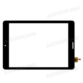 DY-F-07042-V3 Digitizer Glass Touch Screen Replacement for 7.9 Inch MID Tablet PC