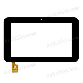 ZJ-70055A Digitizer Glass Touch Screen Replacement for 7 Inch MID Tablet PC