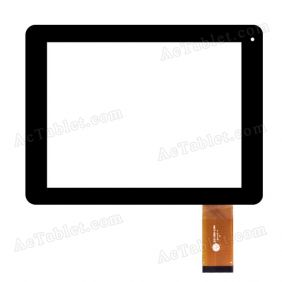 ZHC-D80-129A Digitizer Glass Touch Screen Replacement for 8 Inch MID Tablet PC