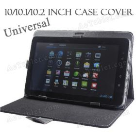 PU Leather Case Cover for Insignia Flex 10.1 NS-14T004, NS-15AT10 MID 10.1 Inch Tablet PC