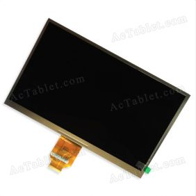 "LCD Display Screen for Irulu 10.1"" Allwinner A20 Dual Core 1024x600px MID Tablet PC Replacement"