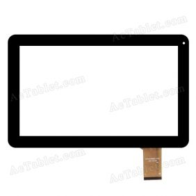 CZY6789B01-FPC Digitizer Glass Touch Screen Replacement for 10.1 Inch MID Tablet PC